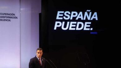 """Sánchez apela a la unidad frente al virus y exige a la derecha que """"arrime el hombro"""""""