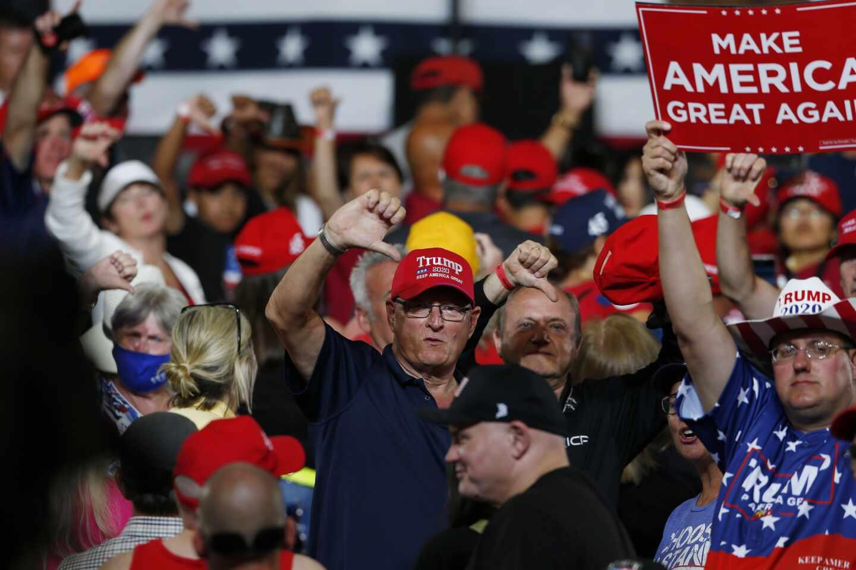 Trump seguidores EEUU 2020