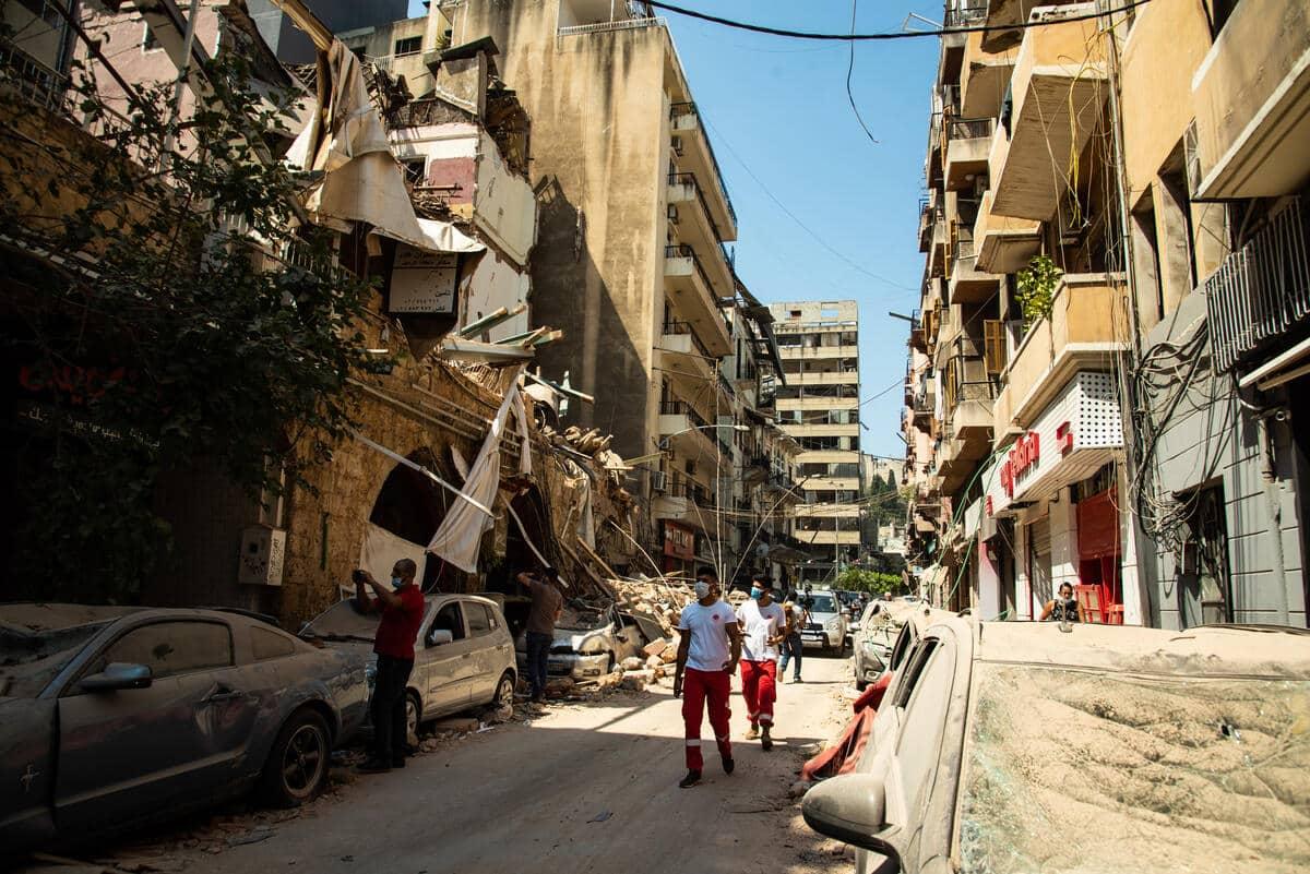 """""""Si te mueves por Beirut, tienes la sensación de que es una zona de posguerra"""""""