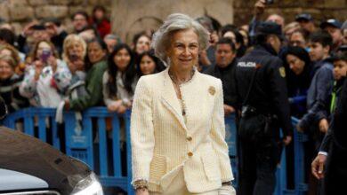 La reina Sofía no asiste a un concierto del que es habitual en Palma y sigue sin dejarse ver con sus nietas