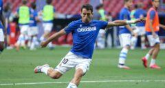 El jugador de la Real Sociedad Mikel Oyarzabal confirma que ha dado positivo en Covid-19