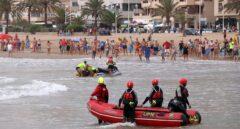 Rescatan el cuerpo de un hombre flotando en el agua en Puerto de Sagunto (Valencia)