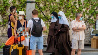 La mascarilla dejará de ser obligatoria en exteriores el 26 de junio