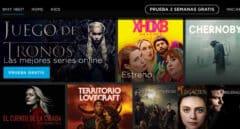 Imagen de la plataforma de streaming HBO en España.