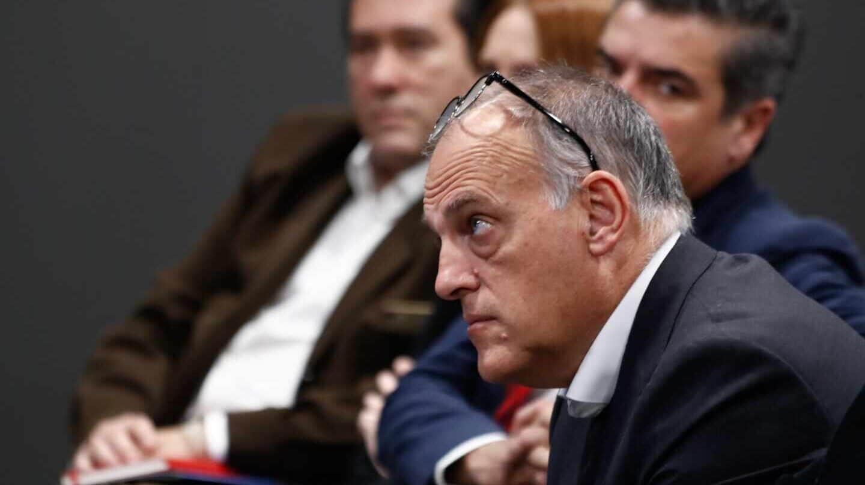 El Real Madrid confirma las acciones legales contra Tebas, CVC y su director en España