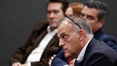 Tebas pidió al Gobierno una reforma fiscal para evitar huidas como la de Messi