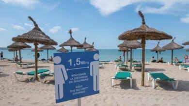 España pierde 15 millones de turistas en verano en plena segunda ola de contagios