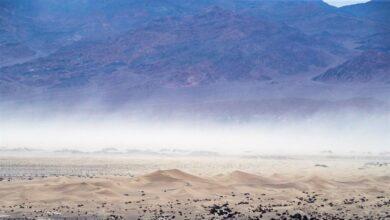 Asfixiante: el Valle de la Muerte registra una temperatura récord de 54,4ºC