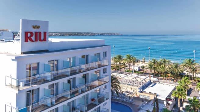 Uno de los hoteles del grupo Riu en Mallorca.