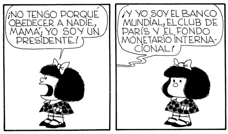 Mafalda y las leyes