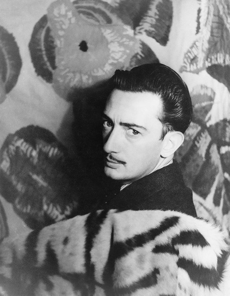 Fotografía de Salvador Dalí