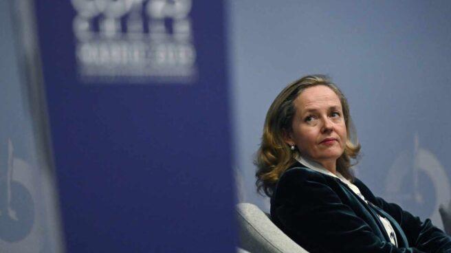 La ministra de Asuntos Económicos, Nadia Calviño.