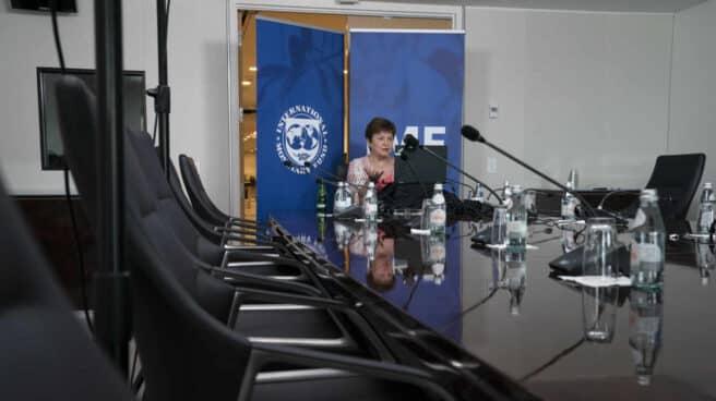 Kristalina Georgieva, directora general del Fondo Monetario Internacional