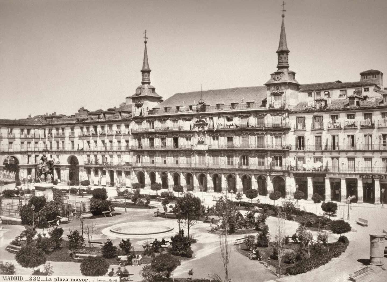 Plaza mayor en 1867