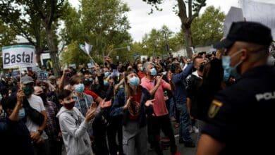 """El Sur de Madrid vuelve a protestar contra los confinamientos: """"¡No somos guetos!"""""""