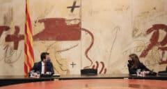 Pere Aragonés asume las funciones de president con la silla vacía de Torra