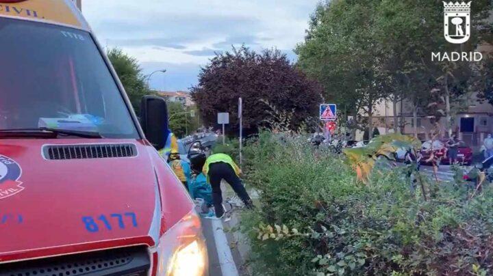 Herido muy grave un niño de 11 años tras ser atropellado por un coche en Hortaleza