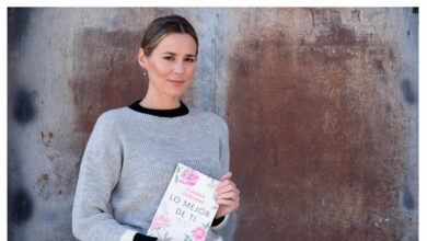 Claudia Osborne: «Mi padre no se ha leído el libro todavía y no sé si lo leerá»