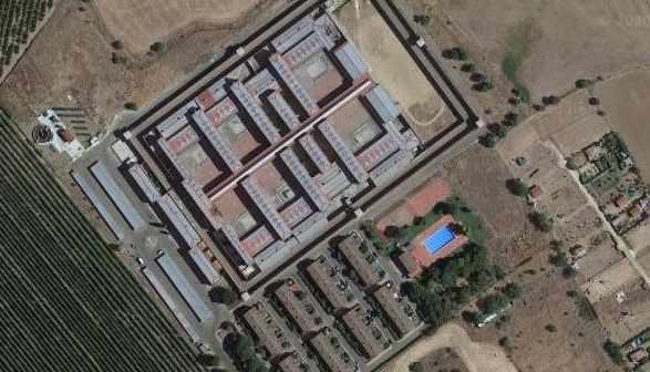 Centro Penitendiario de Badajoz.