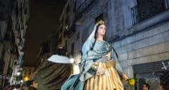 La Generalitat deja en manos de Colau el control de la pandemia en las fiestas de la Mercè