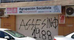 Pintan un símbolo nazi en la sede del PSOE de un pueblo de Valencia