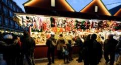 Madrid mantiene su tradicional mercadillo de Navidad de la Plaza Mayor