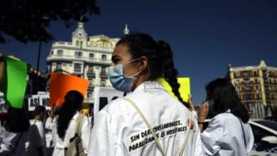 Arranca una huelga indefinida de más de 5.000 médicos en Madrid