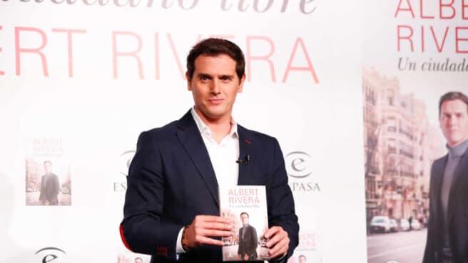 Albert Rivera en la presentación de su libro