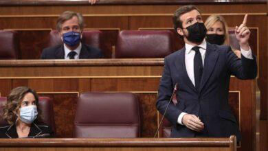 """El PP exige a Sánchez el cese inmediato de Iglesias: """"Estaría imputado si no fuese por su aforamiento"""""""