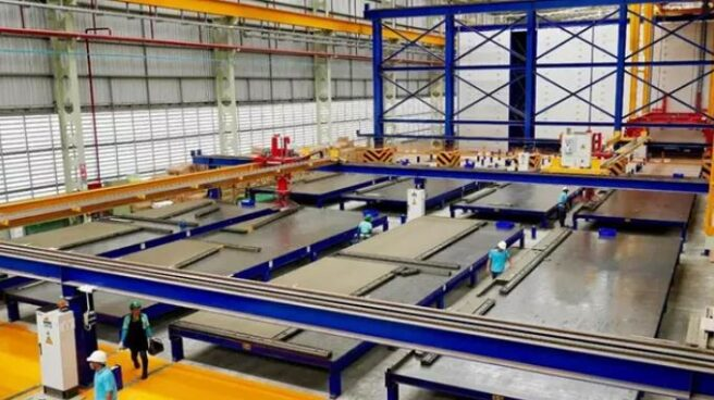 Fábrica de construcción industrializada de Wallex.