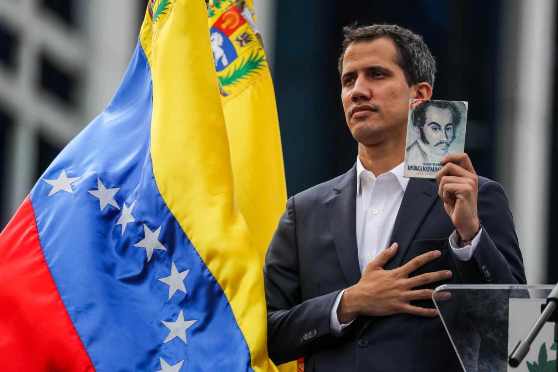 Guaidó-presidente encargado-Venezuela