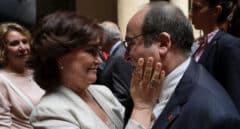 El PSC presionó a Calvo para acelerar la reforma del delito de sedición