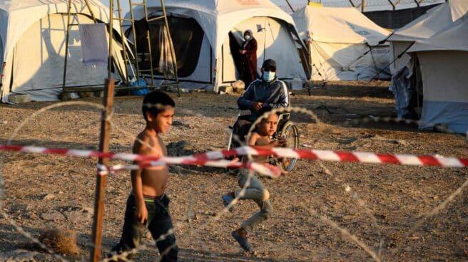 Migración Lesbos Pacto Comisión Europea