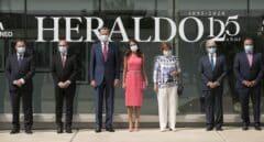 """Los Reyes destacan la """"integridad profesional"""" de Heraldo de Aragón y su amor a España en su 125 aniversario"""