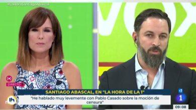 """La tensa entrevista a Abascal en TVE: """"Es el peor Gobierno no en 80, en 800 años"""""""