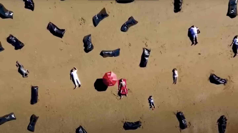 Fotograma del vídeo que ha subido la plataforma Hazte Oír