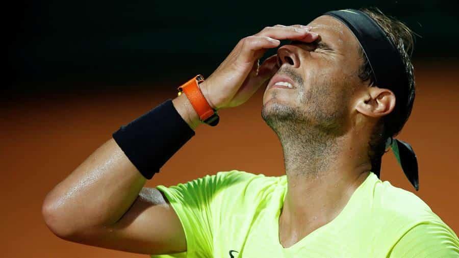 Rafael Nadal quedó eliminado en los cuartos de final de Roma