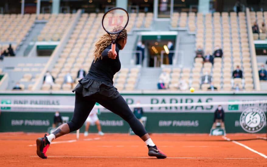 La estadounidense Serena Williams, una de las grandes favoritas en el cuadro femenino