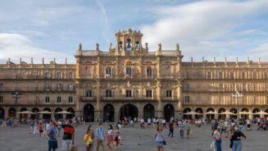 Un centenar de denuncias en la nochevieja universitaria de Salamanca