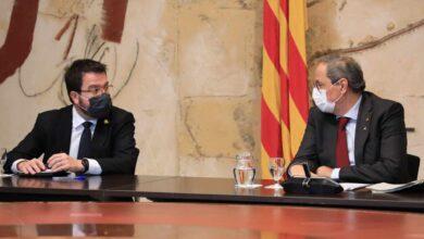 """Torra asume su fracaso en su adiós a la Generalitat: """"No he podido avanzar más"""""""