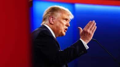 """Del """"payaso"""" de Trump al problema de drogas del hijo de Biden: los momentos más tensos del debate"""