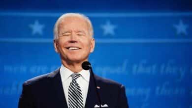 Fotogalería: las mejores imágenes del primer debate entre Trump y Biden