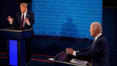 Trump y Biden se enzarzan en una pelea callejera en un primer debate caótico
