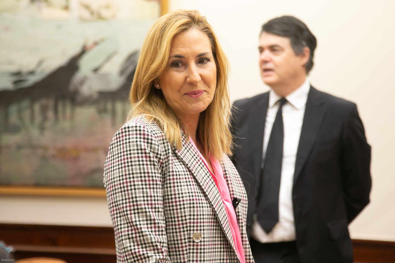 La diputada del PP, Ana María Beltrán.