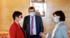Calvo 'toma la temperatura' a la lealtad de EH Bildu y PNV