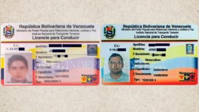 El permiso de conducir falso que usan venezolanos en España y que busca la Policía