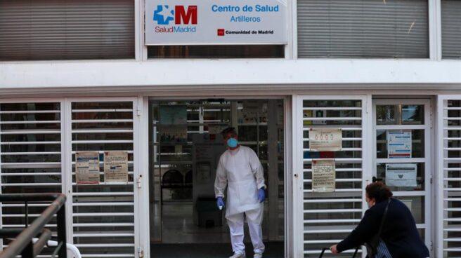 Un centro de salud en la Comunidad de Madrid.