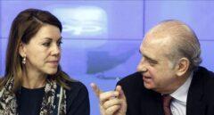 La amenaza de la suspensión de militancia pende sobre Fernández Díaz y Cospedal