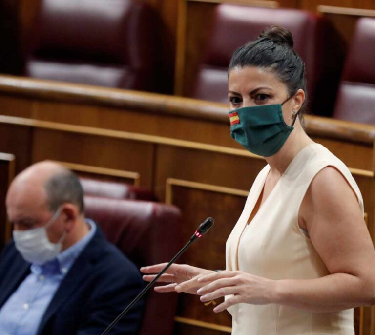 """""""¡Callaos la boca!"""": Olona reprende a la bancada de la izquierda en el Congreso"""