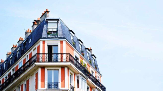 Fachada de un edificio residencial